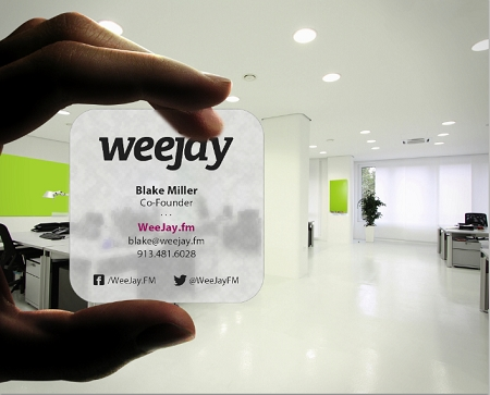 business cards zoom clear