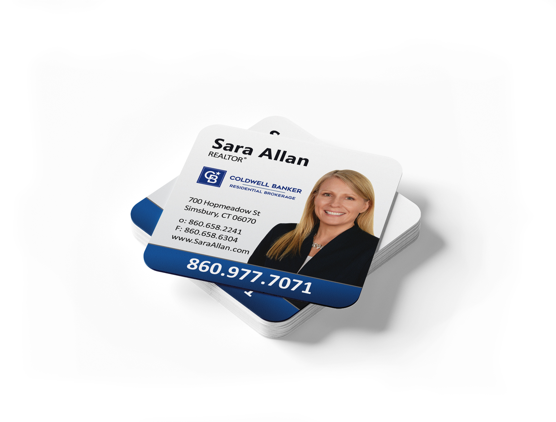 Coldwell Banker Square Business Cards Within Coldwell Banker Business Card Template